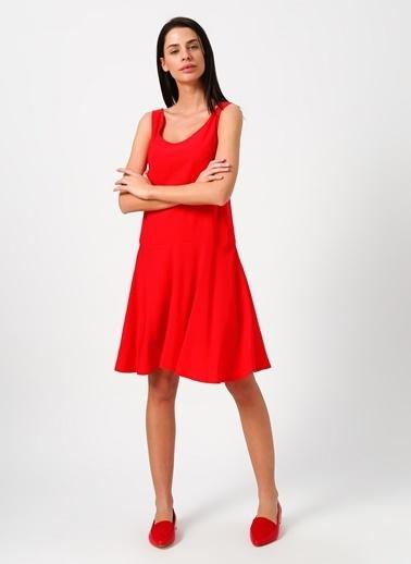 Limon Company Askılı Elbise Kırmızı